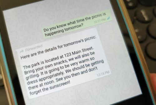 WhatsApp limits forwarded messages to curb the spread of fake news