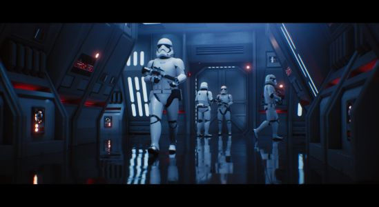 Unreal Engine + $150,000 GPU = Amazing, real-time raytraced Star Wars