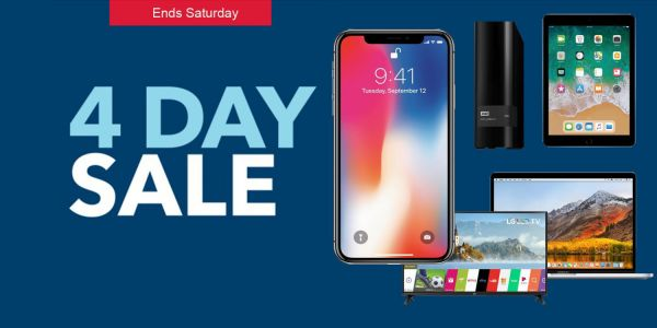 Best Buy's 4-day sale delivers up to $400 off Macs, $500 off iPhone X w/ trade, TVs, more