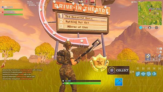 Fortnite Week 10 Battle Star Guide: Search Between Movie Titles