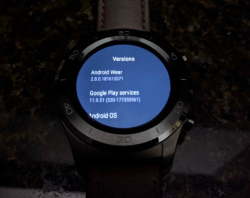 Google Releases Android Wear 2.8 Software Update
