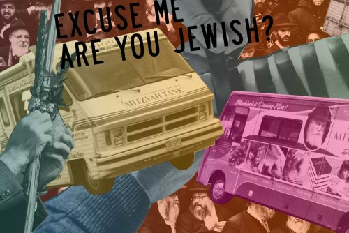 'Excuse Me, Are You Jewish?' Unorthodox Hits the Streets of NYC With Chabad