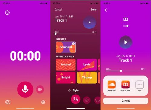 Dolby Reportedly Working Music Recording App For Mobile Devices