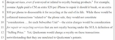 Patently absurd: did you know Qualcomm charges a 5% wireless patent royalty on iPhone repairs?
