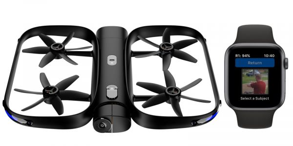 Skydio R1 drone with Apple Watch control can now fly over water, more car-tracking modes added