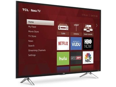 Find new shows to watch with all-time low pricing on the TCL 43-inch HD TV