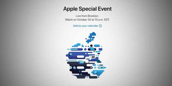 Apple will live stream its October 30 event on the web, iPad Pro and new Macs rumored