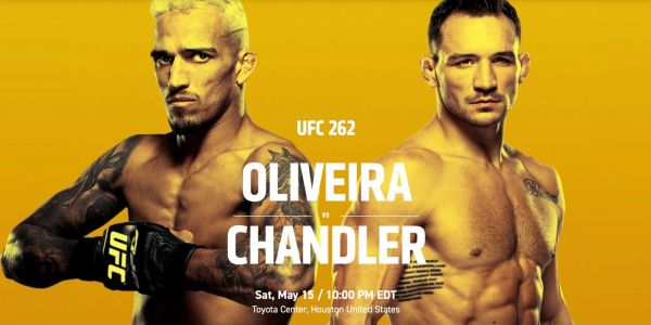 How to watch UFC 262 Oliveira vs Chandler on iPhone, Apple TV, web, more