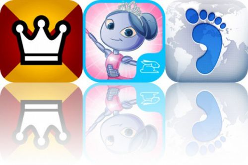 Today's Apps Gone Free: REX, Roxy and the Ballerina Robot and Footprint