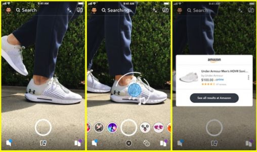 Snapchat And Amazon Make It Easier To Buy New Things