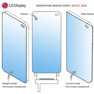 LG patents its own fullscreen notch-free display with the selfie camera underneath