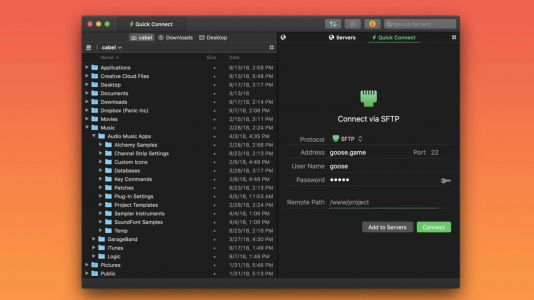 Panic's Transmit FTP client returns on the Mac App Store following WWDC announcement