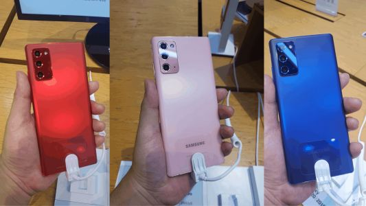 You Can't Buy The Galaxy Note 20 In These Colors
