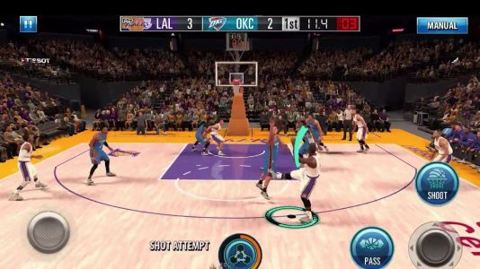 NBA 2K Mobile update seen at iPad Pro event with 'console level graphics' now available