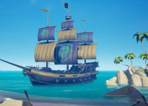 Sea of Thieves Patch 1.0.4 Adds Performance Tweaks, Legend Sails And More