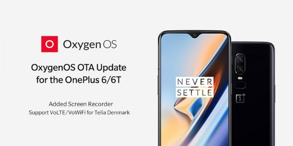 OnePlus 6/6T get Screen recorder, June patch, more in latest OxygenOS OTA