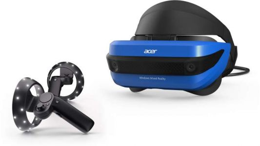 Windows Mixed Reality Goes Live, HMDs Go On Sale As Well