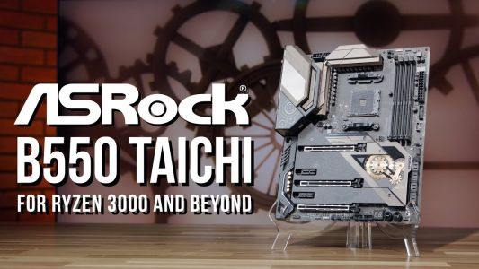 The ASRock B550 Taichi motherboard: Ready for Ryzen 3000 and beyond
