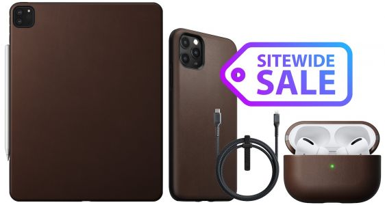Deals: Nomad Kicks Off Week-Long Sitewide Sale With 30% Off iPhone Cases, Wireless Chargers, and More