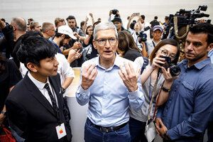 Tim Cook: here's why Apple banned the Hong Kong protesters' maps app. again
