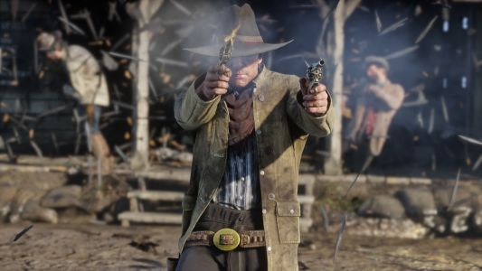 Red Dead Redemption 2 leaked footage shows Arthur Morgan on the run