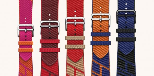 Apple debuts a wide variety of new Apple Watch band colors and designs, including new woven textile Hermès band