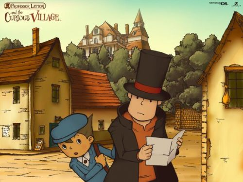 Professor Layton and the Curious Village is coming to iOS