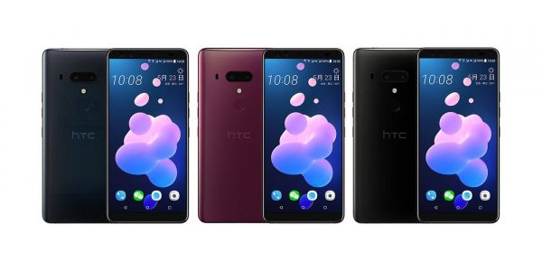 HTC U12+ leaks in new renders w/ alleged full spec list, 3500 mAh battery & Android P tease