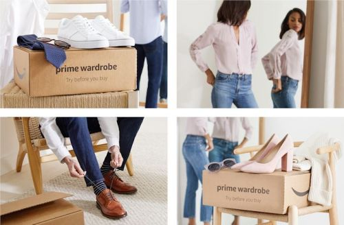 Amazon Prime members can try clothes before they buy