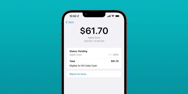 Apple Card now offering 6% Daily Cash back on purchases from Apple