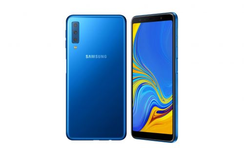 Samsung Galaxy A7 goes official as the company's first triple-camera smartphone