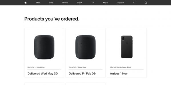 Apple updates Apple Store Orders page with modern new design