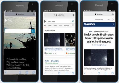 Bing starts serving AMP pages as Google prepares to reduce its control