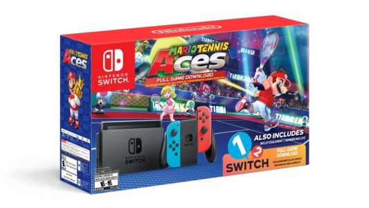 Mario Tennis Aces bundle offers two games for the price of one