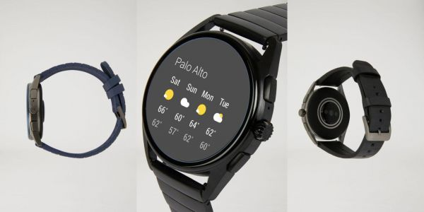 Armani's new Wear OS watch uses an old chip, but adds NFC, GPS, heart rate, coming this fall