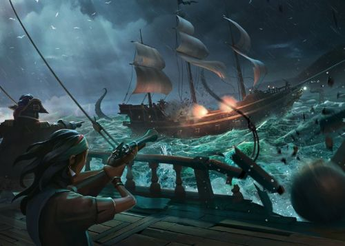 Sea of Thieves pets and micro-transaction store discussed in developer update