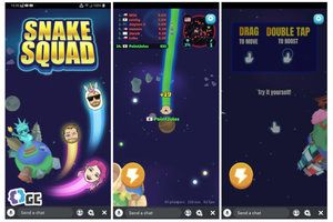 Snapchat's first three Snap Games for Android and iOS go live