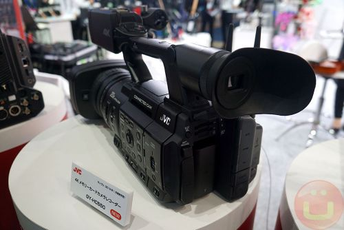 JVC 500-Series Connected Camera For Live 4K Broadcasting