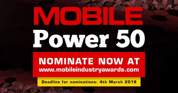 2019 Mobile Power 50 - Nominations extended