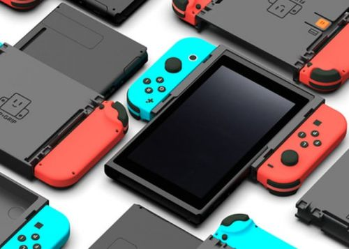 Nintendo Switch Flip Grip Vertical Screen Adaptor Lets You Play In Portrait