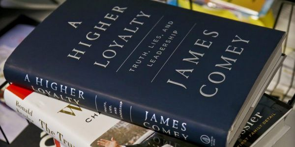 James Comey's new book, available for pre-order on iPhone & iPad, says Apple fails to see the darkness