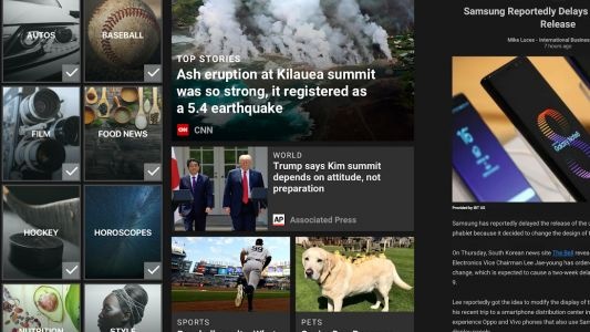 The new Microsoft News app brings headlines to your handset