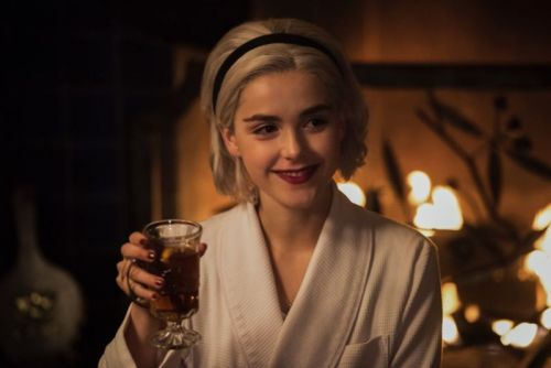 Chilling Adventures of Sabrina charms with some welcome holiday horror