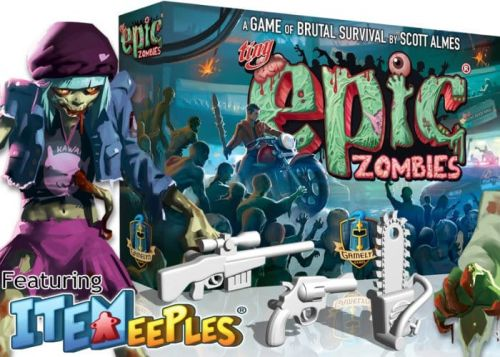 Tiny Epic Zombies Survival Board Game Hits Kickstarter