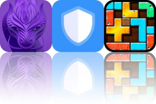Today's Apps Gone Free: Invisible Dragons, Neptune and Slide Tetromino