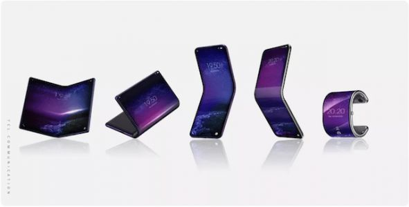 TCL's Foldable Smartphone Could Bend Into A Smartwatch
