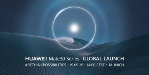How To Watch The Huawei Mate 30 Series Announcement Live