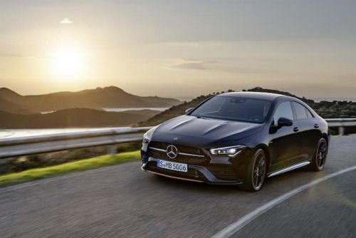 Mercedes CLA Coupe appears in another video