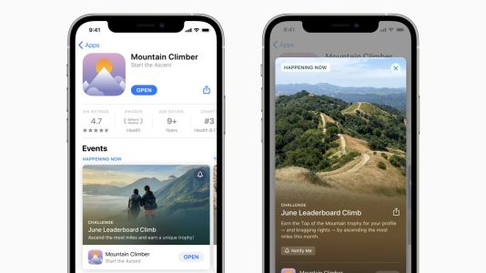 Apple says in-app events on the App Store will officially launch next week