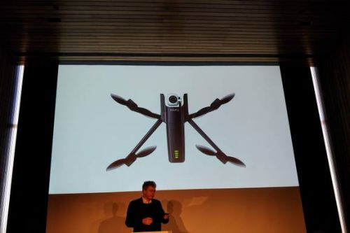 Parrot unveils 4K HDR foldable Analfi drone for $700